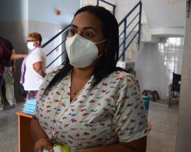 Loren Sánchez, coordinadora ambulatorio tipo III Ciudad Cartón