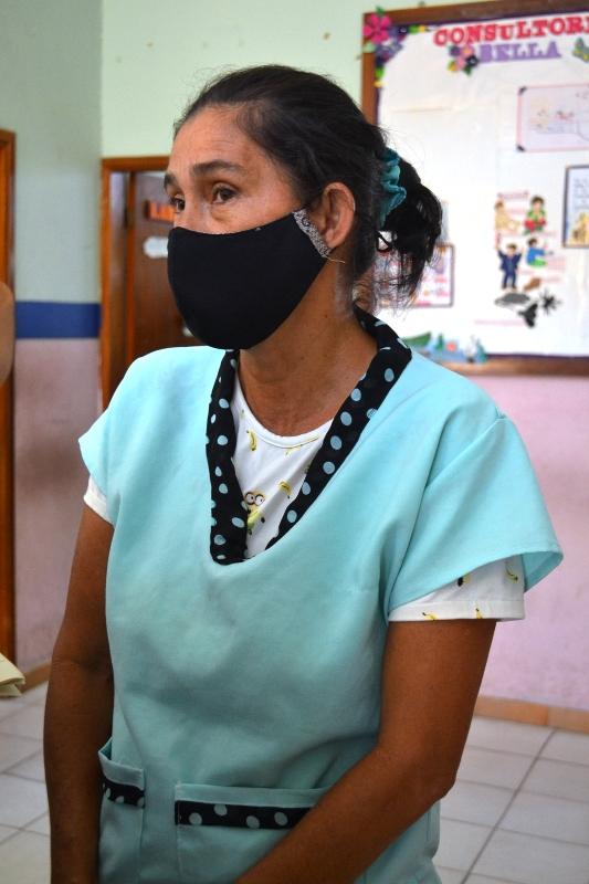 Rosa Rodríguez, coordinadora ambulatorio tipo III Bella Vista