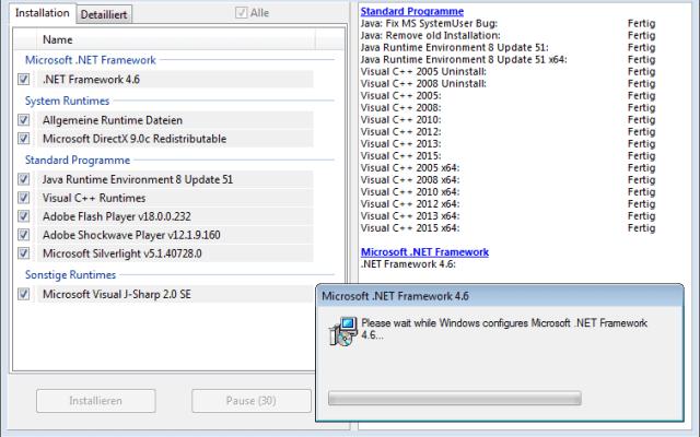 Aio جميع البرامج اللازمة لتشغيل الألعاب بكفاءة عالية على أجهزة الكمبيزتر