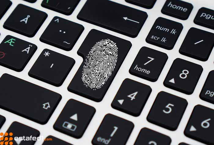 تسجيل الدخول من خلال بصمة الإصبع