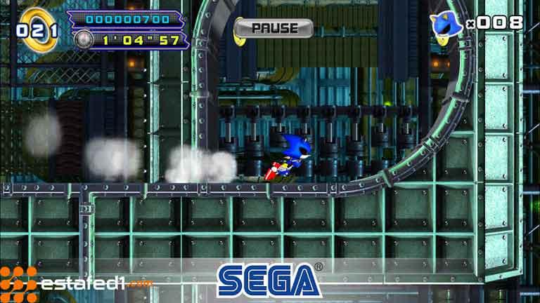 العاب اندرويد مجانية Sonic sega 2019