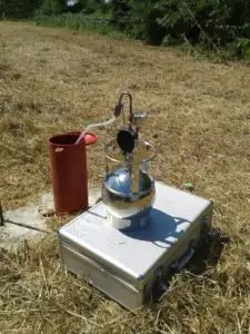 campionamento gas interstiziali