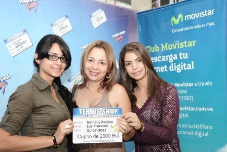 Venezuela miembro del club movistar recibi for Oficinas movistar valencia