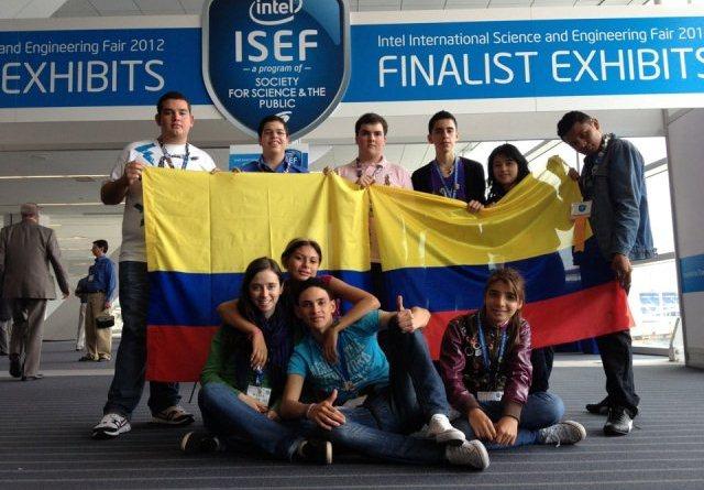 Colombianos en el ISEF
