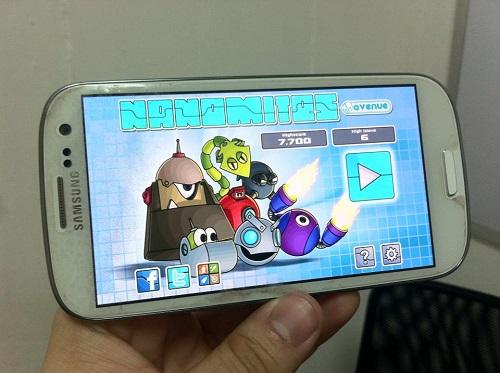 Nanomites en Samsung Galaxy SIII