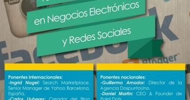 jornada negocios electronicos y redes sociales