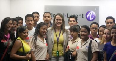 Superatec visita Alcatel-Lucent