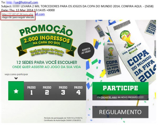 falso brasil 2014
