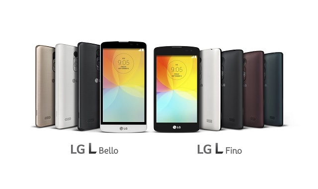 LG L BELLO(left) and L FINO(right)