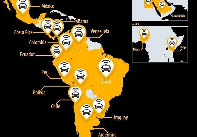 Infografía países Easy Taxi