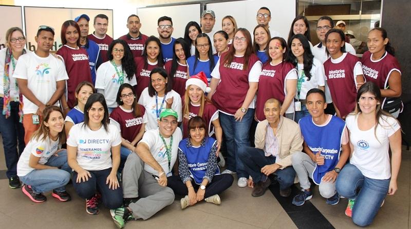 Voluntarios de Banesco, Directv y Unicasa realizaron Jornada Solidaria