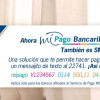 Mi Pago Bancaribe, ahora a través de SMS