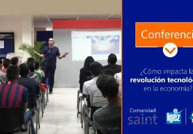 """Saint dicta conferencia sobre la Nueva Economía en """"Santiago Mariño"""""""
