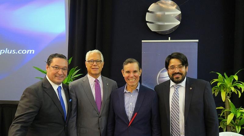 Banplus, Pedro, Penzini, Diego Ricol, Luis Vicente Leon y Asdrubal Romero en el Encuentro Estrategias Empresariales 2020