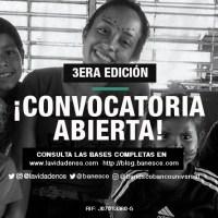 Concurso Lo Mejor de Nos convoca para su tercera edición