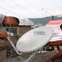 Regresará señal de Cantv Televisión Satelital