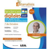 Datanalisis te invita al evento de Tendencias Digitales 2020