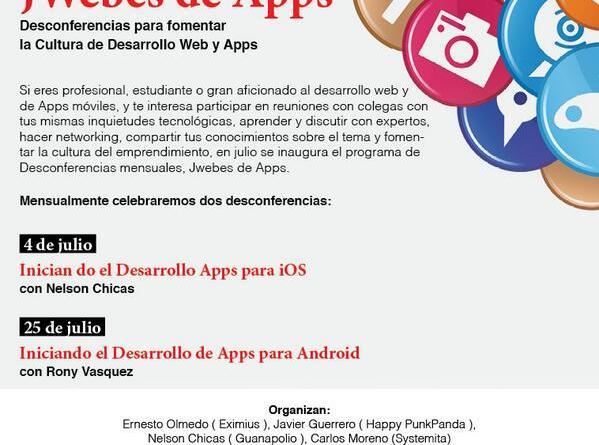 JWebes de Apps