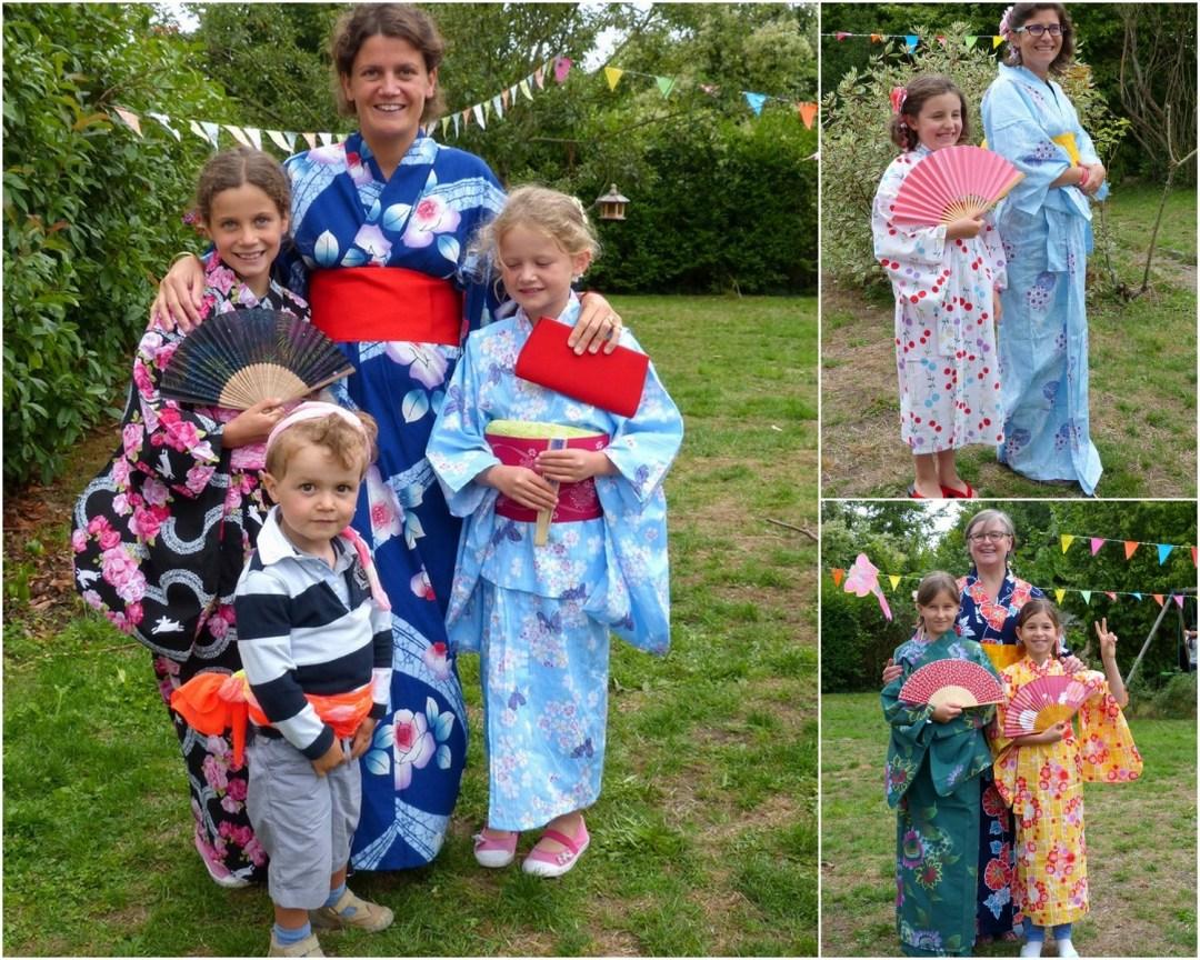 Yukatas en famille
