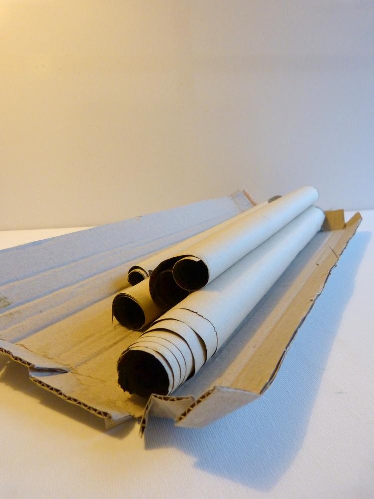 histoire de savon de papier peint et de pliage