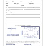 Pre Service Check In Sheets And Forms Estampe