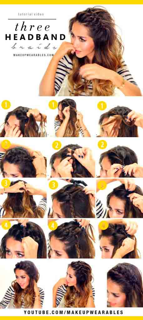 3-Easy-Headband-Braids-Cute-half-up-hairstyles-for-everyday
