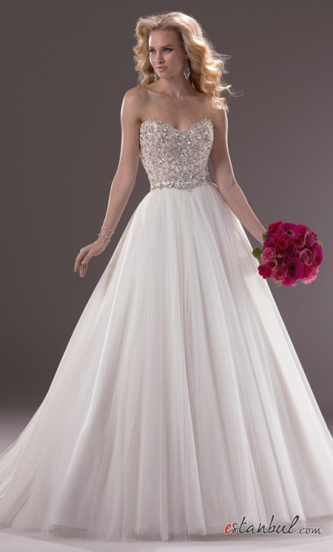 En-Güzel-2014-Sade-Gelinlik-Modelleri-2014-Simple-Bridal-Wedding-Dresses-8