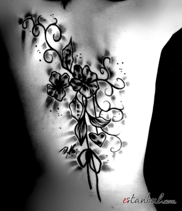 Çiçek Dövme Desenleri