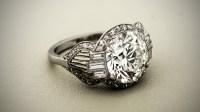 Buying a 5 Carat Engagement Ring - Estate Diamond Jewelry