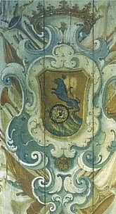 Brasão da Família de Tomasi, cuja história deu origem ao romance