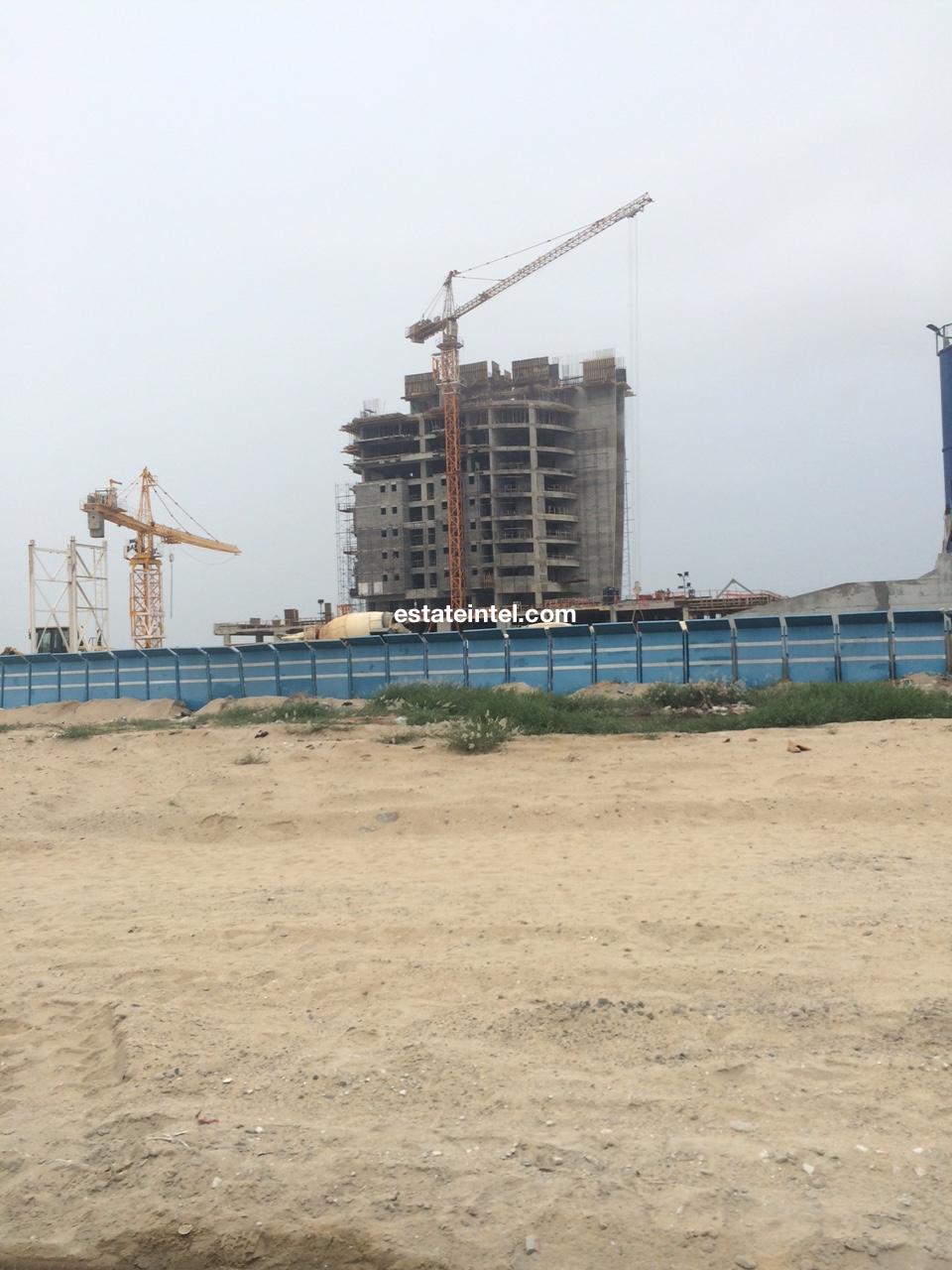 Eko Pearl, Eko Atlantic - Lagos. May 2015