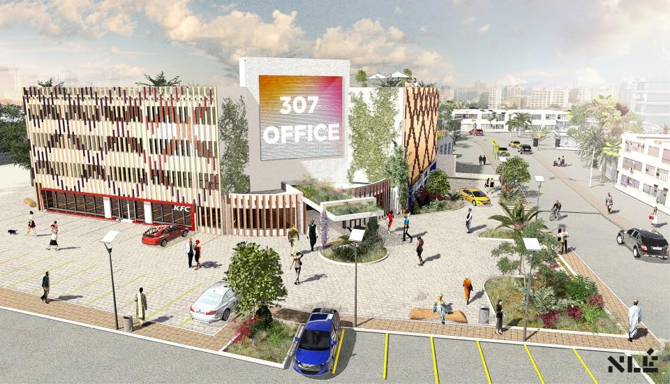 307 Office, Adeola Odeku - Victoria Island, Lagos. Image Source: nleworks.com