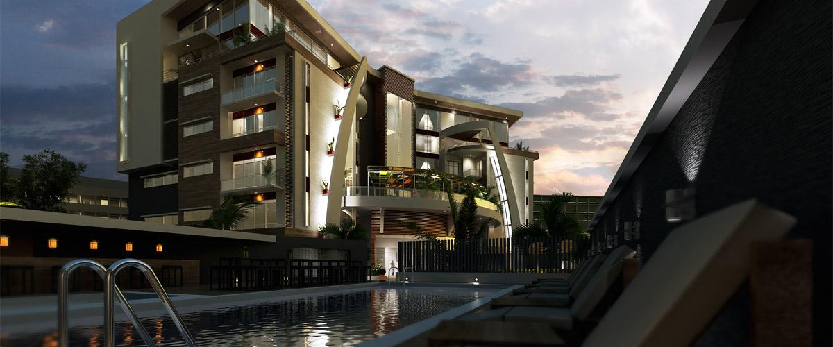 The Mandarin, Victoria Island - Lagos. Image Source: orangelineddc