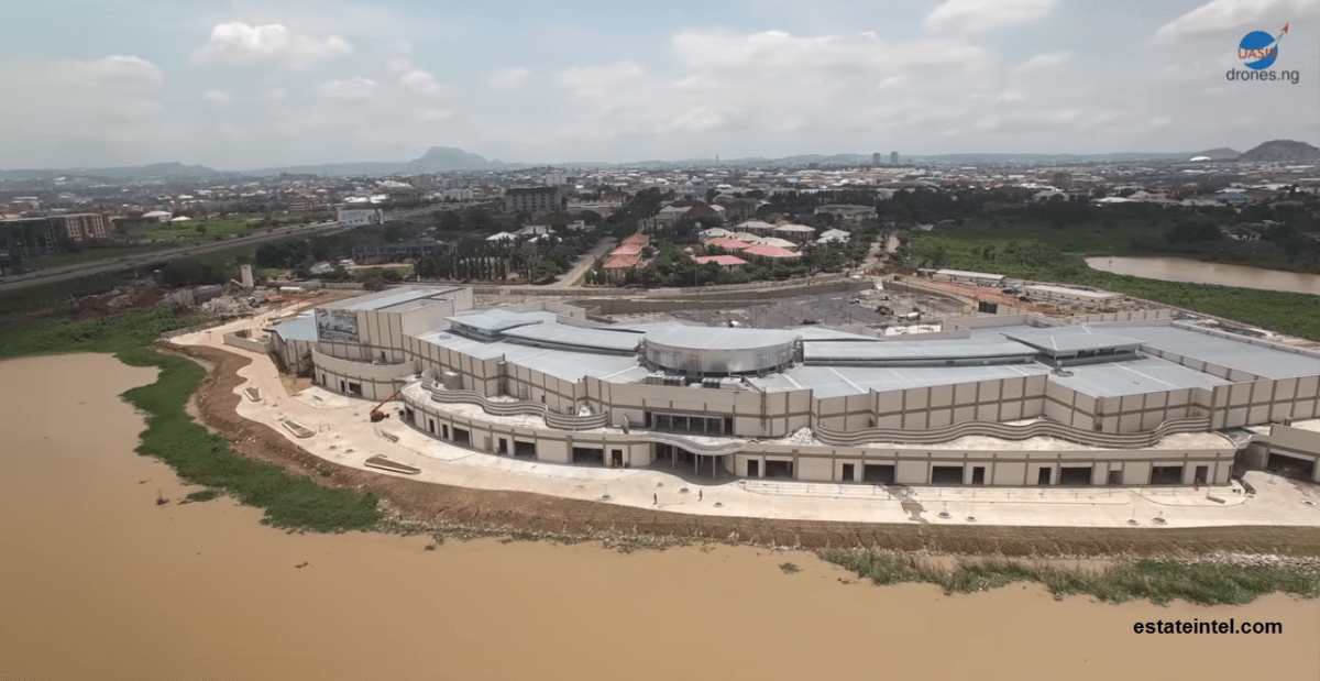 Jabi Lake Mall, Abuja. Image Source: UAS Innovations and Solutions Limited