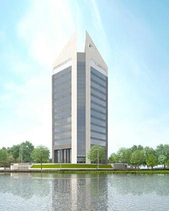 Alpha 1 (Afren Tower), Eko Atlantic. Image Source: skyscrapercity