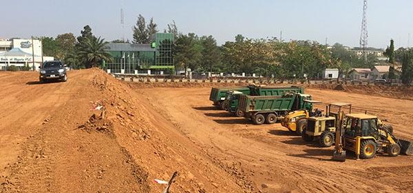 Development: Novare Central Office Park, Wuse 1 - Abuja. Image Source: Novare. December 2015