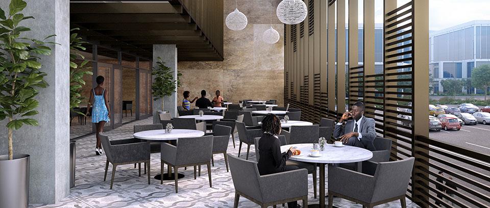 Development: Novare Central Office Park, Wuse 1 - Abuja. Image Source: Novare