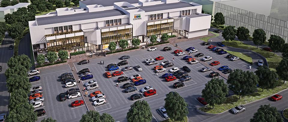 Development: Novare Central Office Park, Wuse 1 - Abuja . Image Source: Novare
