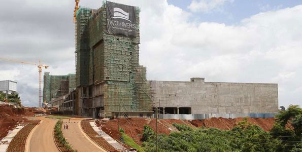 Two Rivers Mall, Nairobi - Kenya Under Construction. Image Source: Business Daily