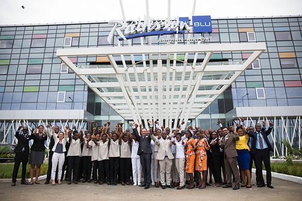 Radisson Blu Abidjan Airport, Côte d'Ivoire. Image source: nevistas.com