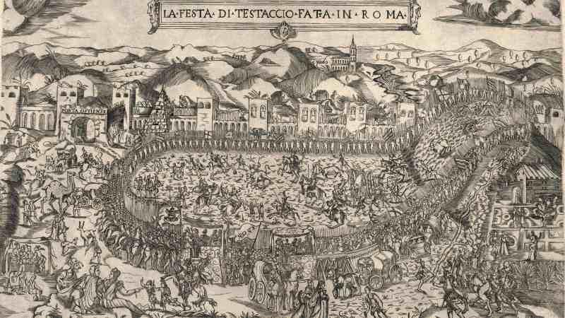 Monte dei Cocci a Testaccio - Roma
