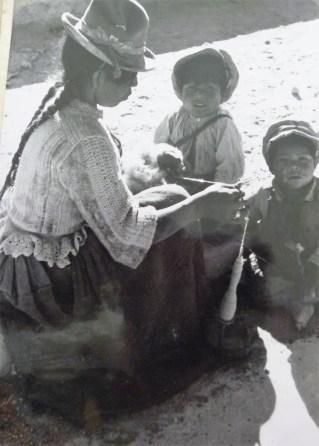 Fazeres diários dos indígenas
