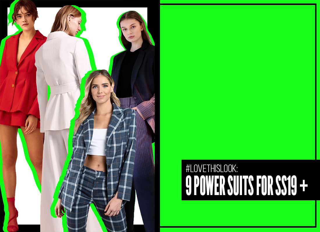 Love This Look: 9 Power Suits for SS19 Curated by Estela Editors