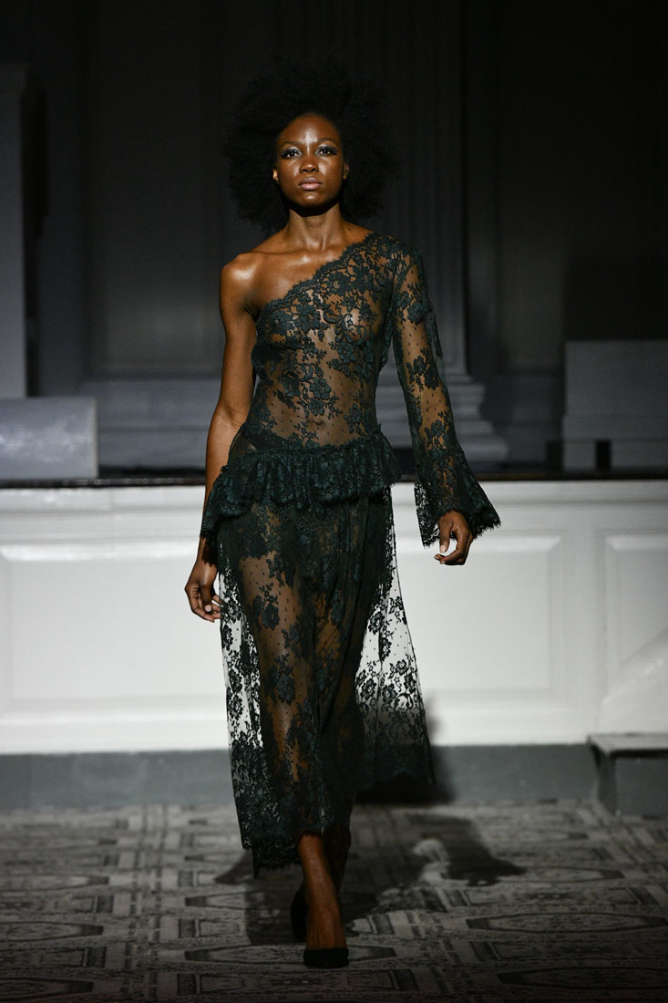 Frederick Anderson Fall/Winter 2019 at New York Fashion Week