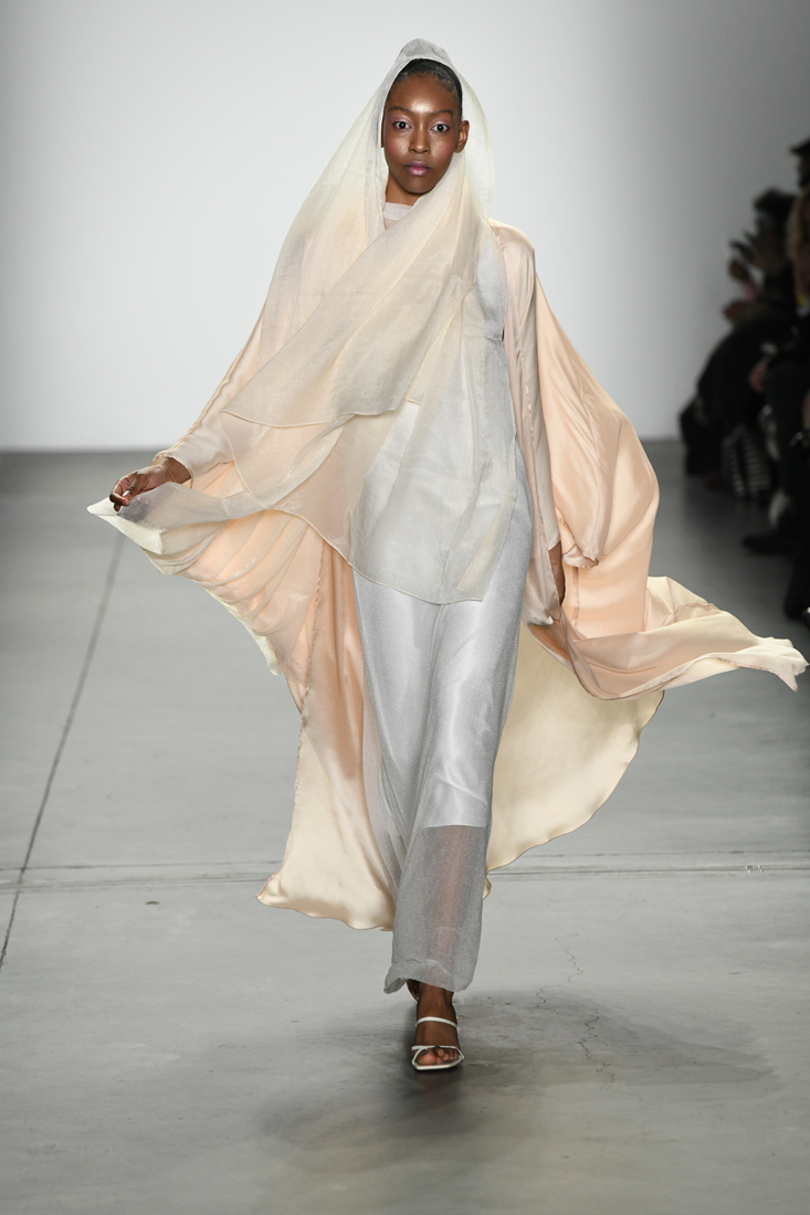 Harlienz & Ghada AlbuainainFall/Winter 2019 at New York Fashion Week