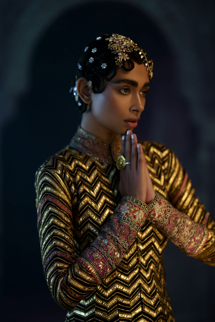 Estela Digitorial The Golden Girl shot by Ashish Chawla