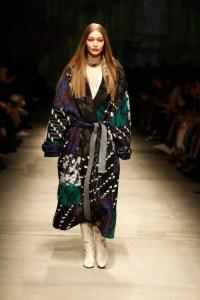 Gigi Hadid walks for Missoni at Milan Fashion Week