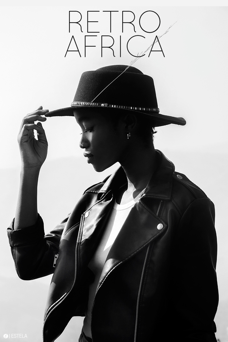 Estela Mag Fashion Digitorial Retro Africa by Roake