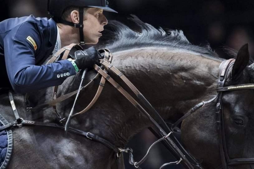 Max Kuehner y su caballo Cornet Kalua
