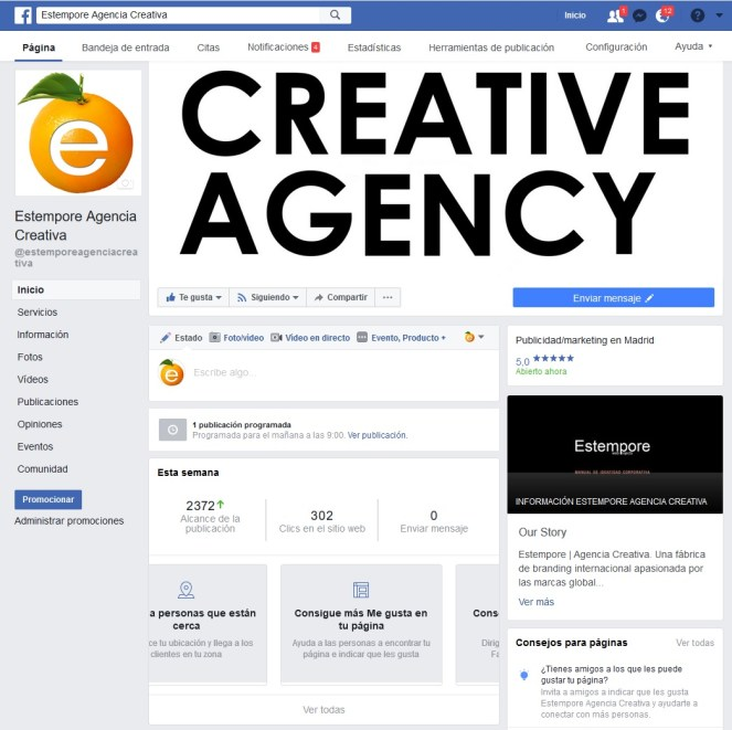 Agencia creativa